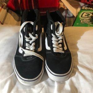 Vans high top sneakers